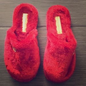 Michael Kors Woman's Red Slippers in size 9